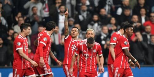 (VIDEO) El Bayern Munich le ganó al Besiktas y avanzó a los Cuartos de Final de la Champions