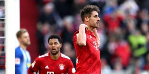 (VIDEO) El Bayern se impone al Hertha por la mínima