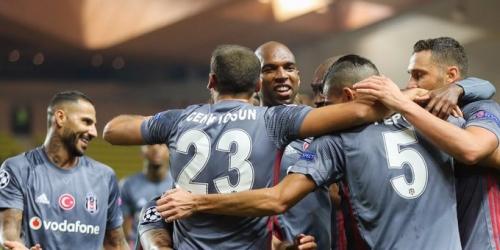 (VIDEO) El Besiktas venció al Mónaco en el Principado