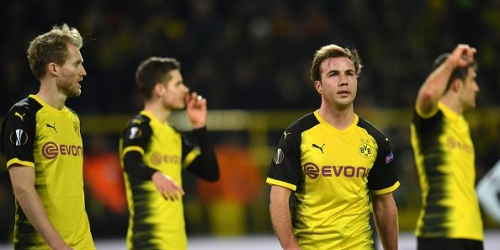 (VIDEO) El Borussia Dortmund no pudo frente al Salzburgo y perdió de local por la Europa League