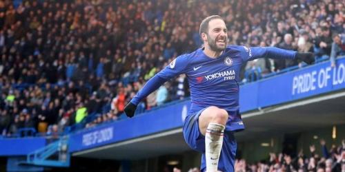 (VIDEO) El Chelsea completa una mano goleando al Huddersfield