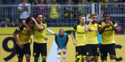 (VIDEO) El Dortmund remonta y golea para ser el primer líder