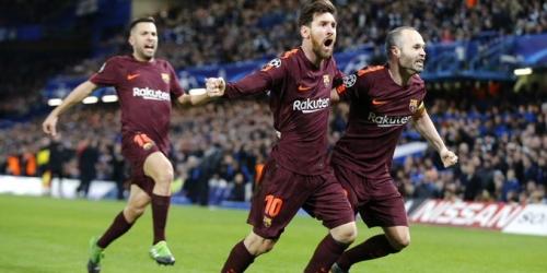 (VIDEO) El FC Barcelona derrotó al Chelsea y avanzó a los Cuartos de Final de la Champions League