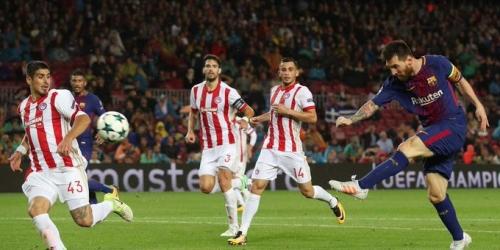 (VIDEO) El FC Barcelona se afianza en el liderato en la Champions