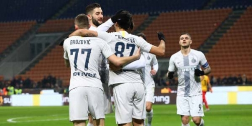 (VIDEO) El Inter clasifica en Copa de Italia en silencio