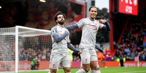 (VIDEO) El Liverpool golea al Bournemouth