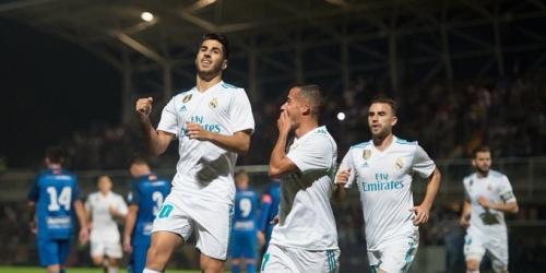 (VIDEO) El Madrid de los suplentes maravilló en la Copa del Rey