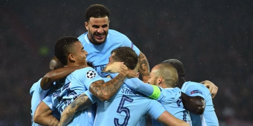 (VIDEO) El Manchester City convence en su debut de Champions League