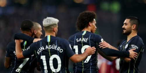(VIDEO) El Manchester City golea al West Ham y sigue en la cima de la Premier