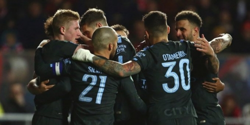 (VIDEO) El Manchester City le ganó al Bristol City y avanzó a la Final de la League Cup