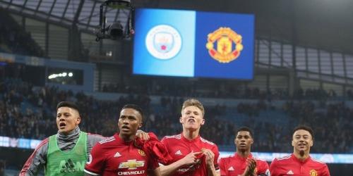 (VIDEO) El Manchester United amargó la fiesta del City para coronarse campeón