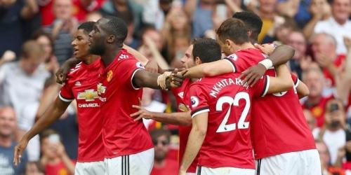 (VIDEO) El Manchester United goleó al Crystal Palace en Old Trafford