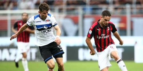 (VIDEO) El Milan logró un empate ante Atalanta