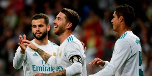 (VIDEO) El Real Madrid venció al Eibar en el Santiago Bernabéu