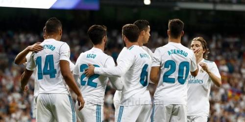 (VIDEO) El Real Madrid venció al Espanyol en el Santiago Bernabéu
