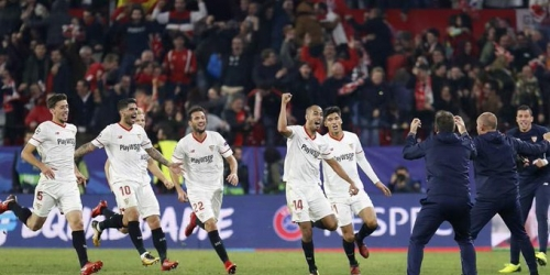 (VIDEO) El Sevilla empató con el Liverpool luego de una épica remontada