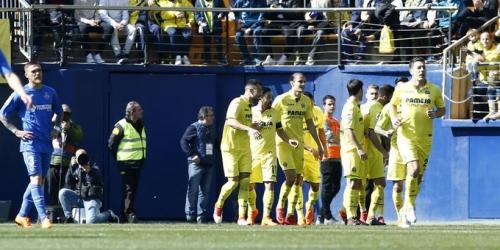 (VIDEO) El Villarreal le ganó 1 a 0 al Getafe
