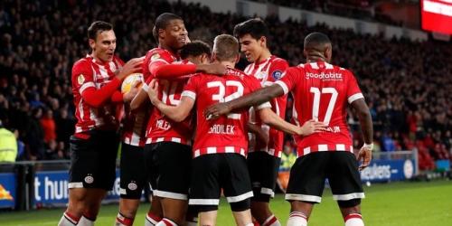(VIDEO) En partido sencillo, el PSV goleó 6 a 0 al Excelsior