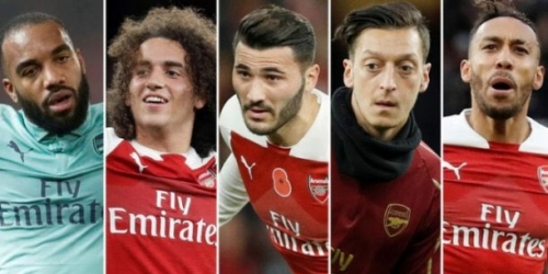 (VIDEO) Escándalo en el Arsenal al ver a sus jugadores consumiendo droga