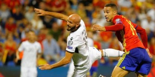 (VIDEO) España ganó fácilmente y ya está en el Mundial de Rusia 2018