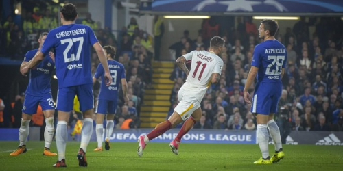 (VIDEO) Espectacular empate entre el Chelsea y la Roma