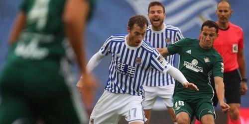 (VIDEO) Festival de goles entre la Real Sociedad y el Betis