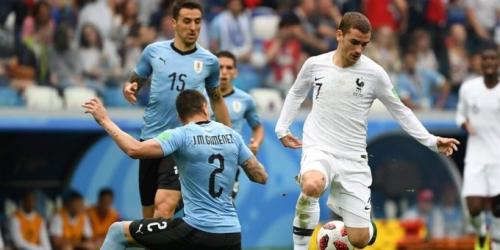 (VIDEO) Francia elimina a Uruguay y avanza a la semifinal