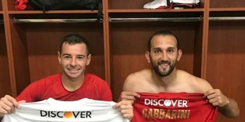 """(VIDEO) Gabbarini y Barcos """"Héroes"""" en Liga de Quito"""