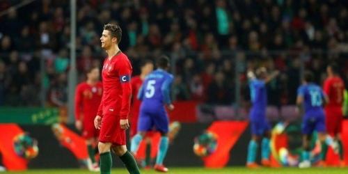"""(VIDEO) Holanda golea a Portugal en un partido """"extraño"""" de Cristiano Ronaldo"""