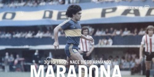 (VIDEO) Hoy cumple 57 años Diego Armando Maradona
