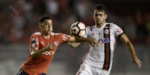 (VIDEO) Independiente ganó en la primera final de ida contra Flamengo