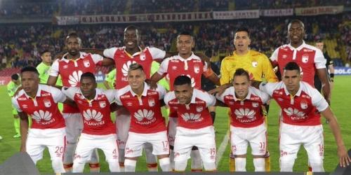 (VIDEO) Independiente Santa Fe empató con Táchira y avanzó en la Copa Libertadores