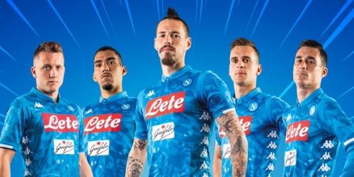(VIDEO) Ingeniosa presentación de la nueva camiseta del Napoli
