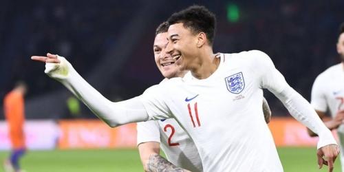(VIDEO) Inglaterra le ganó a Holanda con un solitario gol