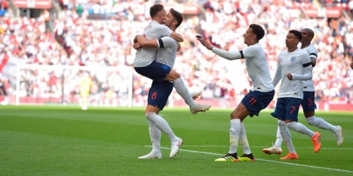 (VIDEO) Inglaterra venció a Nigeria en Wembley