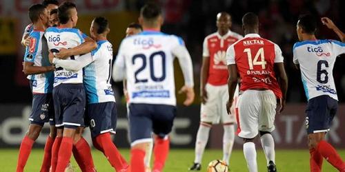 (VIDEO) Junior ganó de visita y está un paso de la final de la Sudamericana