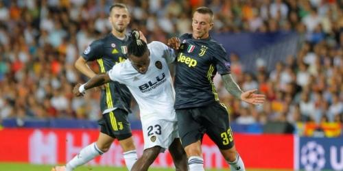 (VIDEO) Juventus derrota 2 a 0 al Valencia en polémico partido