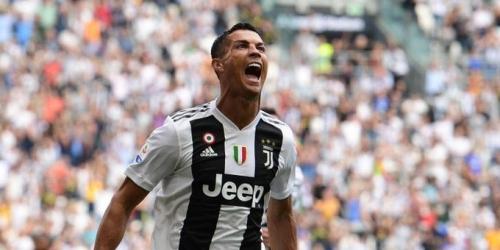 (VIDEO) Juventus ganó de visita al Sassuolo con dos goles de Ronaldo