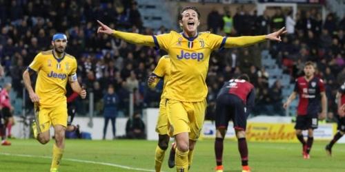 (VIDEO) Juventus logra una victoria sufrida ante el Cagliari