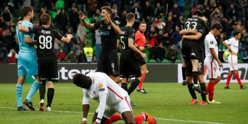 (VIDEO) Krasnodar sorprende a Sevilla y gana 2 a 1