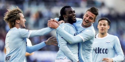 (VIDEO) La Lazio golea a Crotone en el Estadio Olímpico de Roma