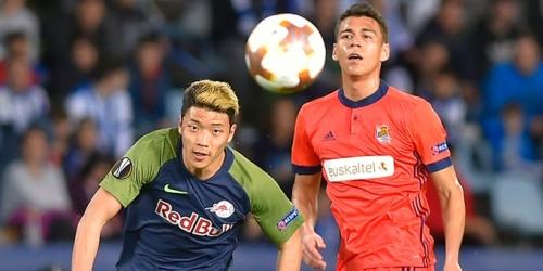 (VIDEO) La Real Sociedad empató con el Salzburg en la Europa League