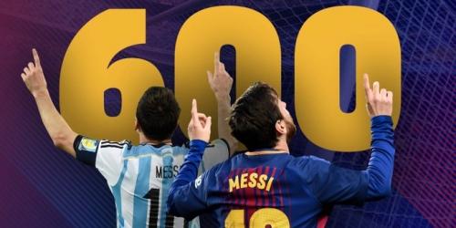 (VIDEO) ¡Leo Messi llegó a su gol numero 600 en su carrera profesional!