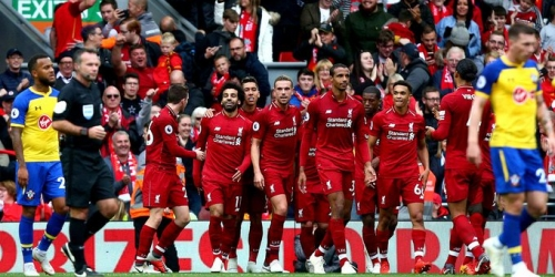 (VIDEO) Liverpool ganó 3-0 al Southampton y mantiene el liderato de la Premier League