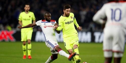 (VIDEO) Lyon empató con el Barcelona en el primer partido de Champions League