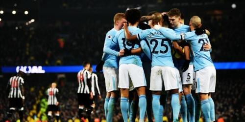 (VIDEO) Mancherster City ganó 3-1 al Newcastle United