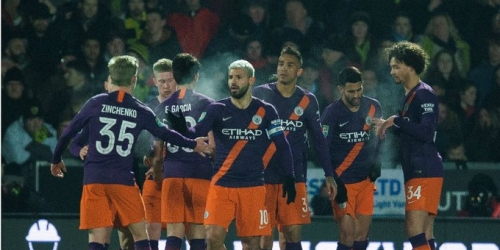 (VIDEO) Manchester City de manera sencilla llega a la final de la Copa de la Liga 2019