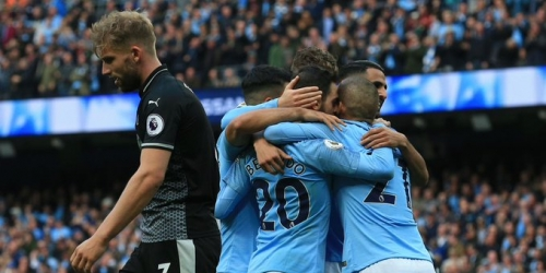 (VIDEO) Manchester City se apodera de la punta al golear 5 a 0 al Burnley