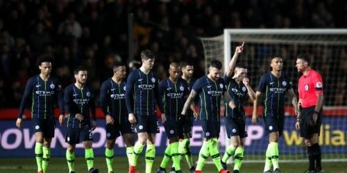 (VIDEO) Manchester City sin dificultades accede a etapas finales de la FA Cup