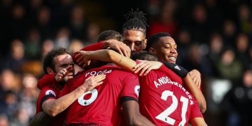 (VIDEO) Manchester United derrota al Fulham y se ubica en puesto de Champions League